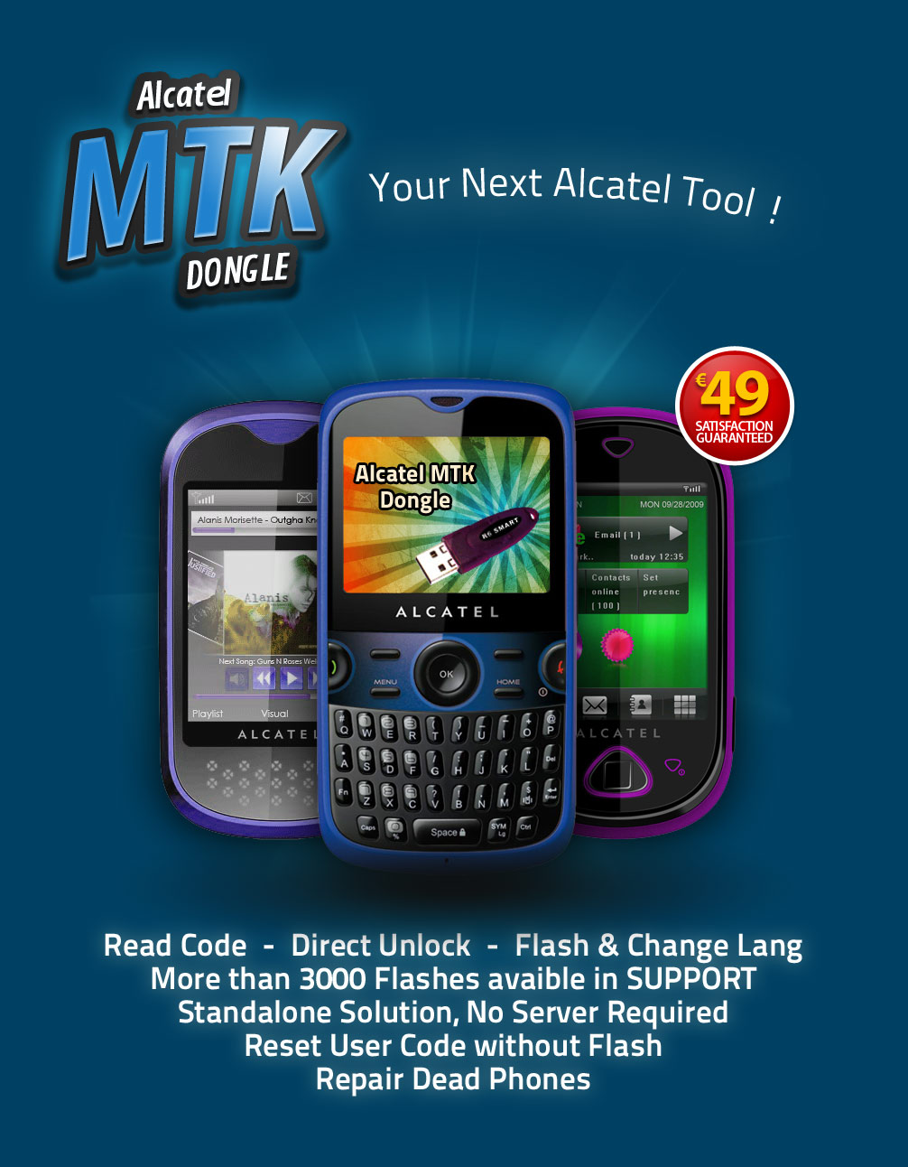 Alcatel MTK Dongle - Your Next Alcatel Tool